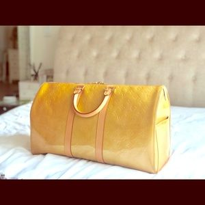 Louis Vuitton Vernis Mercer Weekend/Travel Bag